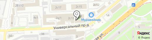 Оптово-розничная компания на карте Липецка
