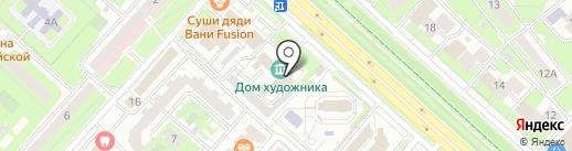 Художественная мастерская на карте Липецка