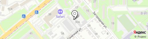 Единая дежурная диспетчерская служба г. Липецка, МКУ на карте Липецка