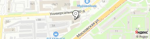 inFORMAT на карте Липецка