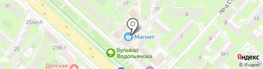 Магазин разливных духов на карте Липецка