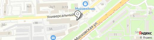 Магазин товаров для праздника на карте Липецка
