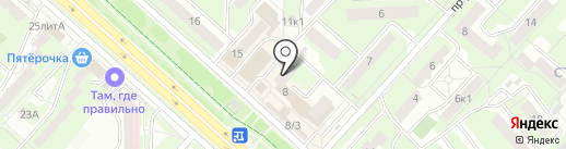 Мясной дом на карте Липецка