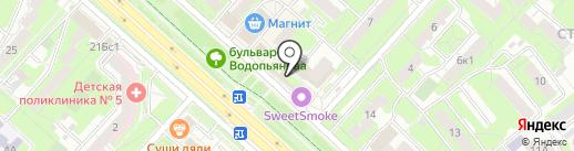 Боярский на карте Липецка