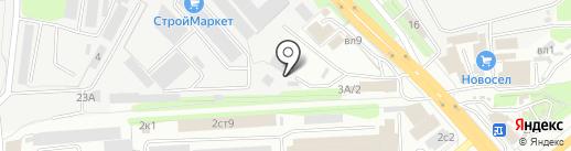 Склад-магазин дверей на карте Липецка