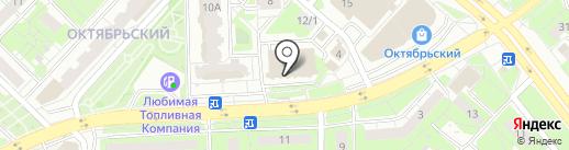 Ампер на карте Липецка