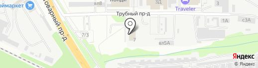 Альпсервис на карте Липецка