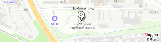ВЕЛЕС-ЭНЕРГО на карте Липецка
