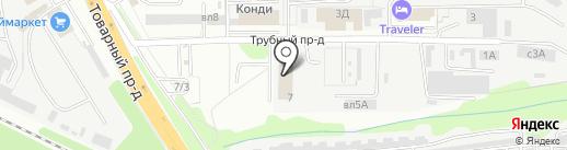 Принт Плюс на карте Липецка