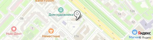 Храм всех святых в земле Российской просиявших на карте Липецка