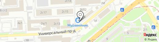 Интерхолдинг-СПМ на карте Липецка