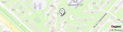 ITGL на карте Липецка
