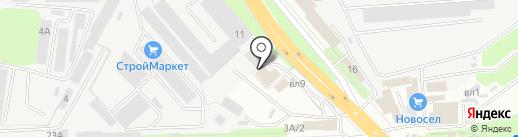 НЭЛС на карте Липецка