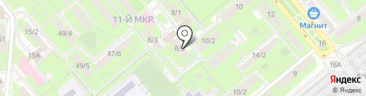 Стройгрупп на карте Липецка