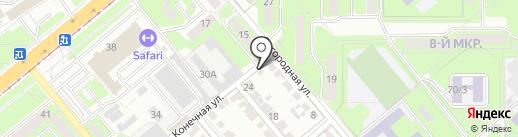 АвтоДруг на карте Липецка