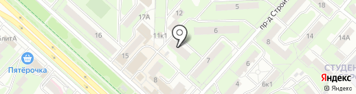 Грация на карте Липецка