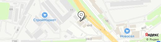 Автотекстиль на карте Липецка