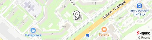 ИнСтайл на карте Липецка