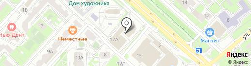 EGO на карте Липецка