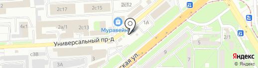 Носкофф на карте Липецка