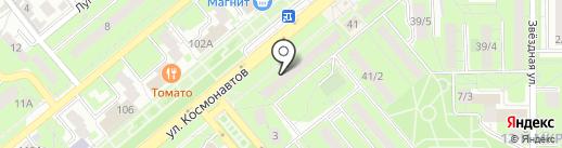 ПарадиZ на карте Липецка