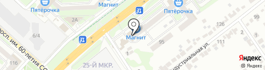 Мила на карте Липецка