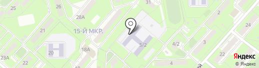 Средняя общеобразовательная школа №21 на карте Липецка