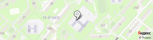 Детская музыкальная школа №8 на карте Липецка