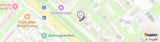 Феникс-М на карте Липецка
