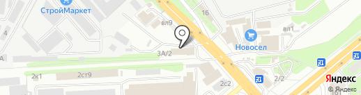 Окна Липецк на карте Липецка