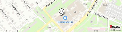 Мэтр на карте Липецка