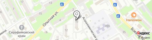 Монтажная компания на карте Липецка