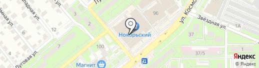Жасмин на карте Липецка