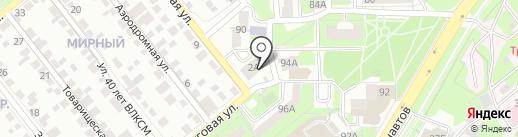 Виктория на карте Липецка