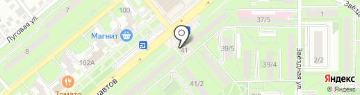 Мастерская по ремонту одежды и установке кнопок на карте Липецка