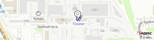 Traveler на карте Липецка