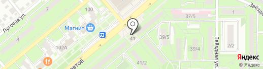 Салон-магазин мебели на карте Липецка