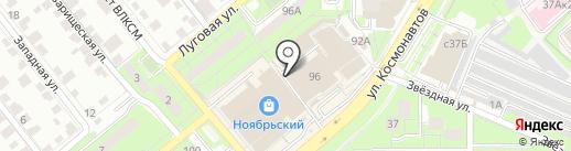 Магазин электротехники на карте Липецка