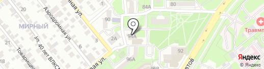 Банкомат, Росгосстрах Банк на карте Липецка