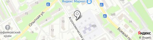 ДМ Электро на карте Липецка