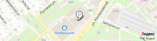 Самед на карте Липецка