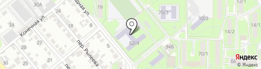Боец на карте Липецка
