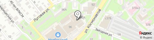 Магазин электротэнов на карте Липецка