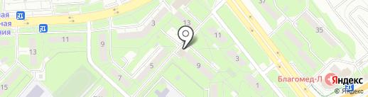 Пломбир на карте Липецка