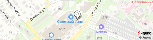 Магазин пультов на карте Липецка