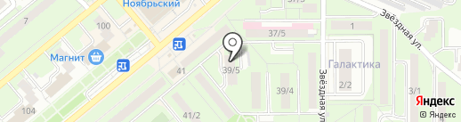 Мастерская Комфорта на карте Липецка