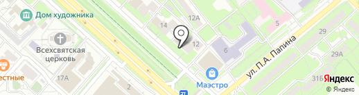 Мебельный салон на карте Липецка