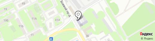 Липецкий, ФГБУ на карте Липецка