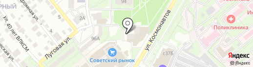 ЮРИСТЫ48 на карте Липецка