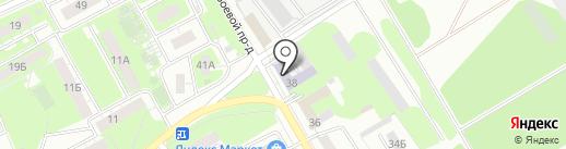 Липецкий центр агрохимической службы на карте Липецка